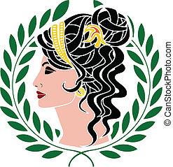 Aphrodite stencil