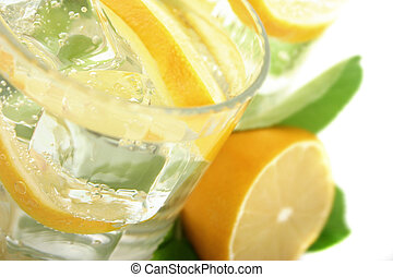 Lemon in Soda