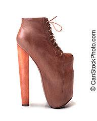High heeled shoe - Extremly high heeled shoe