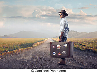 Man before his journey
