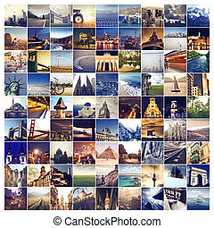 Collage of cities