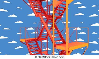 stairway loop 01 - stairway to heaven