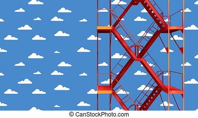 stairway loop 02 - stairway to heaven