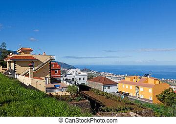 La Orotava View, Tenerife, Spain