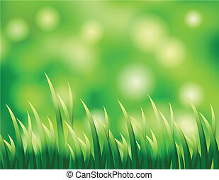 grass background for you design - vector illutration of...