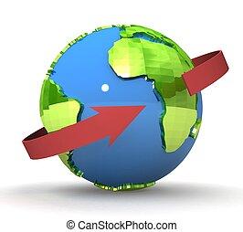 global,  communication,  concept,  3D