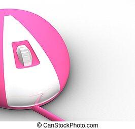 3D PC mouse