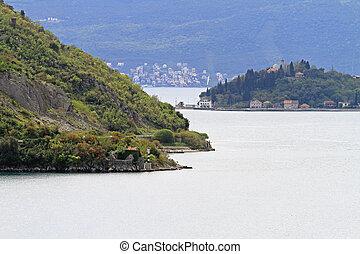 Boka Kotorska strait UNESCO World Heritage Site Montenegro