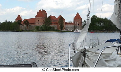 yacht people trakai