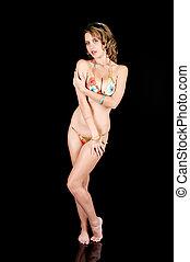 Young Girl in a Bikini