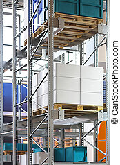 Storehouse racking - High racking warehouse for cargo...