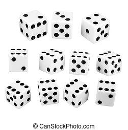 Groupe of dice