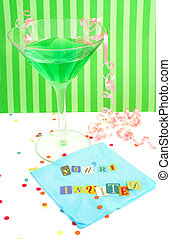 Youre invited invitatio - Youre invited spelled out with cut...