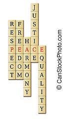 paz, armonía
