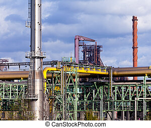 Coking plant producing coke coal for steel making - Coking...