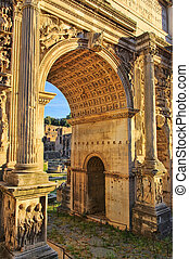 Rome Arch of Septimius Severus 01