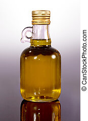Olive oil for healthy recipes, used in nutrition and...