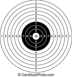 target sport - blank target sport for shooting competition