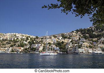 symi island, , Greece