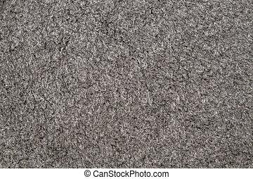 Gray Carpet Background - Background of gray carpet closeup