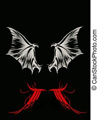 Wings - bat and dragon wings