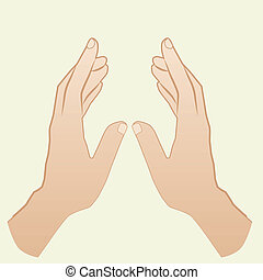 Hand - This image is a vector illustration and can be scaled...