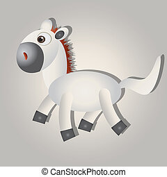 Horse - This image is a vector illustration and can be...