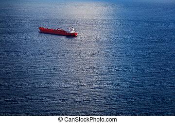 Chemical Tanker in the Atlantic Ocean - Big Chemical Tanker...