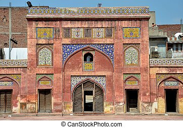 Wazir Khan Mosque -Lahore, Pakistan - The historic Wazir...