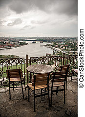 View of the Golden Horn from Pierre Loti Hill - View of the...
