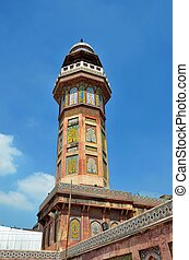 Minaret: Wazir Khan Mosque-Pakistan - The historic Wazir...