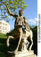 Statue of the Centaur in Pavlovsk - Statue of the Centaur in...