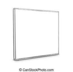 Blank CD Case - Blank CD case isolated on white background...