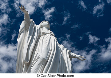 Cerro San Cristobal - Statue of Virgin Mary, Cerro San...