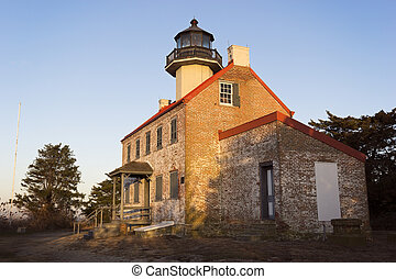 East Point Lighthouse, New Jersey.
