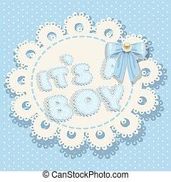 it`s a boy blue baby shower