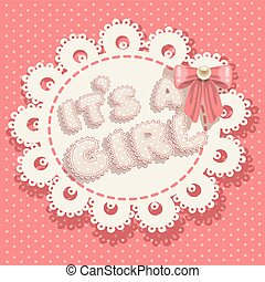 it`s a girl pink baby shower