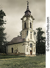 Lonely church - Nice shape of an old church, Hungary