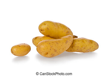 Fingerling Potatoes - Several whole fingerling potatoes...