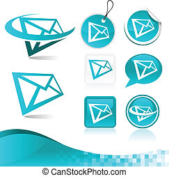 Email Letter Icon Kit