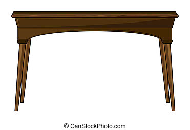 A rectangle table