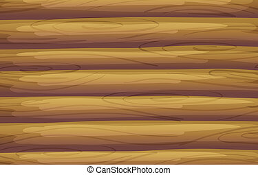 A bamboo background - Illustration of a bamboo background