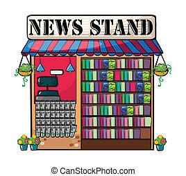 A news paper shop