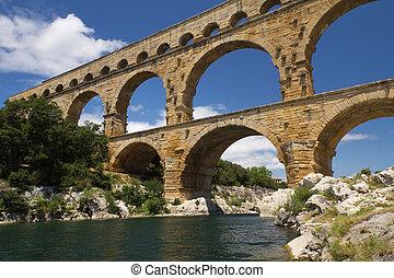 The Pont du Gard in France