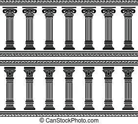 colonnade stencil