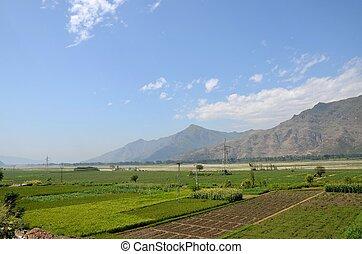 Scenic view of Swat Valley,Pakistan - Pakistan's Swat Valley...