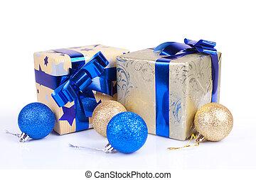 箱, クリスマス, 贈り物