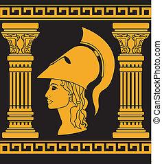 mémoire,  Athéna