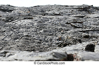 Lava Flow Landscape - Lava flow landscape in the galapagos...