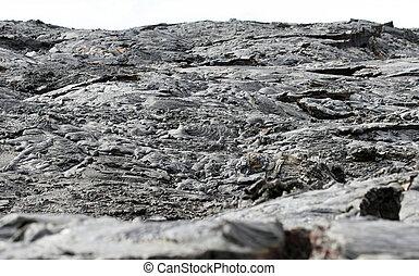 Lava Flow Landscape
